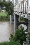 Height marker Morpeth Bridge NSW Bev Dunbar Maths Matters