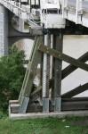 Height of river sign Morpeth Bridge Bev Dunbar Maths Matters