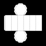 Hex Prism Net (bw) John Duffield duffield-design