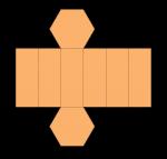 Hex Prism Net (colour) John Duffield duffield-design