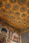 Hexagonal Gilded Ceiling Florence Bev Dunbar Maths Matters