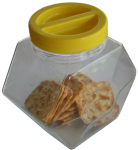 Hexagonal Prism Biscuit Jar Bev Dunbar Maths Matters