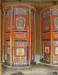 Hexagonal Prism Tibetan Prayer Wheels Xia He China Bev Dunbar Maths Matters
