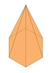 Hexagonal Pyramid - John Duffield duffield-design