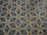 Hexagonal Rhombus Pattern Floor Tiles Florence Bev Dunbar Maths Matters