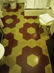 Hexagonal Tile Tessellation Bathroom Floor Bev Dunbar Maths Matters