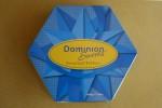 Hexagonal blue lid Bev Dunbar Maths Matters