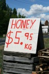 Honey $5.95 Road Sign Bev Dunbar Maths Matters