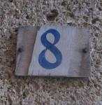 House Number blue 8 Marseille Bev Dunbar Maths Matters