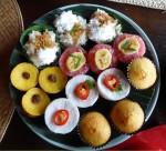 Counting - Bali cakes - food - party Bev Dunbar Maths Matters