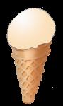 Icecream Cone - Mango - John Duffield duffield-design
