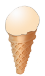 Icecream Cone - Mango - John Duffield duffield-design