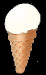 Icecream Cone - Vanilla - John Duffield duffield-design