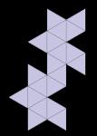 Icosahedron Net - John Duffield duffield-design