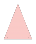 Isoceles Triangle  - John Duffield duffield-design