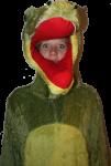 Jess Crocodile -dress up - party Bev Dunbar Maths Matters
