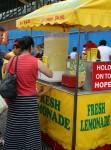 Jumbo cup of lemonade $6 at the Show - volume & capacity - Bev Dunbar Maths Matters