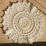 Lace Doily Pattern at the Show Bev Dunbar Maths Matters