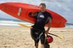 Kayaker Warren - Length kayak 2.41 m Bev Dunbar Maths Matters