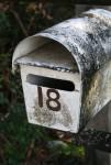Old letterbox number 18 Bev Dunbar Maths Matters