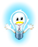 Lighbulb Boy blue - John Duffield duffield-design