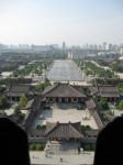 Looking due North Xian China Bev Dunbar Maths Matters
