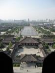 Looking due North Xian China Bev Dunbar Maths Matters