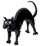 Lucky Black Cat - Chance - John Duffield duffield-design