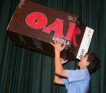 Lukes 1 m milk carton -length - scale -  Bev Dunbar Maths Matters