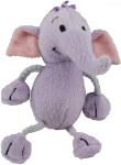 Mauve Elephant - wild animal - toy Bev Dunbar Maths Matters