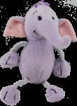 Mauve Elephant - wild animal - toy Bev Dunbar Maths Matters