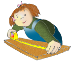 Measurement - Girl Measuring With Tape - John Duffield duffield-design