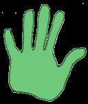 Measurement - Hand Measure - Green - John Duffield duffield-design