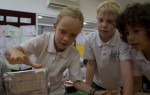 Measuring mass - silver mystery parcel Bev Dunbar Maths Matters