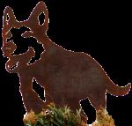 Metal-Dog-Bondi - Pet Bev Dunbar Maths Matters