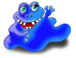 Monster 2 The Blue Blob - John Duffield duffield-design