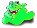 Monster 2 The Green Blob - John Duffield duffield-design