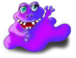 Monster 2 The Purple Blob - John Duffield duffield-design