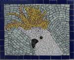 Mosaic Tile Cockatoo Head Pattern Bev Dunbar Maths Matters