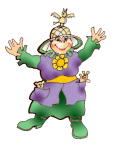 Mrs Gnome 1 metre width John Duffield duffield-design