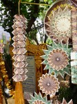 Myanmar Money Origami Structures BevDunbar Maths Matters