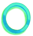 Neon 0  Blue - John Duffield duffield-design