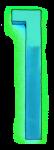Neon 1 Aqua - John Duffield duffield-design