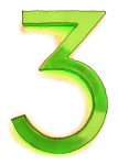 Neon 3 Lime - John Duffield duffield-design