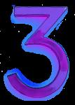 Neon 3 Purple - John Duffield duffield-design