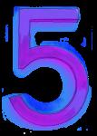 Neon 5 Purple - John Duffield duffield-design