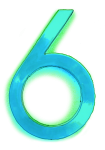 Neon 6 Aqua - John Duffield duffield-design