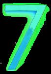 Neon 7 Aqua - John Duffield duffield-design