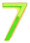 Neon 7 Lime - John Duffield duffield-design