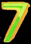 Neon 7 Lime - John Duffield duffield-design